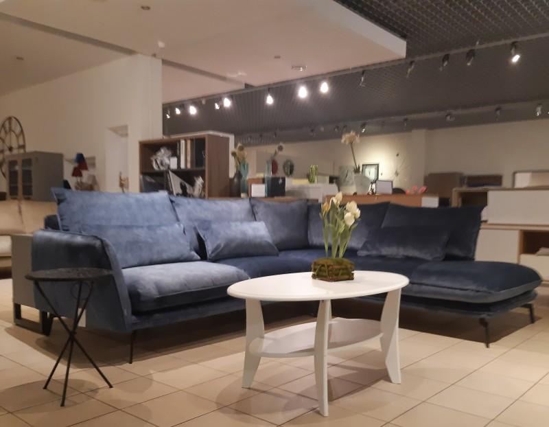 Stūra dīvāns Style open end Right.