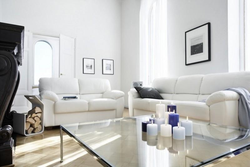Как выбрать кожаный диван для дома